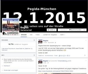 Página de Facebook do Bagida